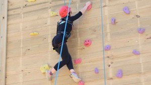 Climbing as a personal resilience challenge