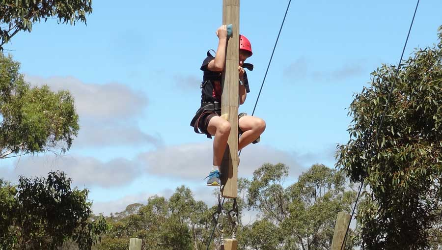 Giant Swing on a PGL Camp