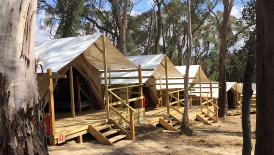 Campaspe Downs Tents