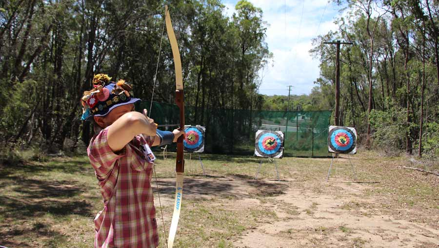 Archery at Kindilan