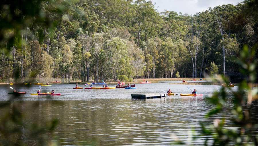 The lake at PGL Kindilan