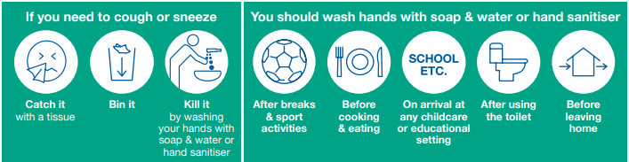Health Advice - Infection Control Policy